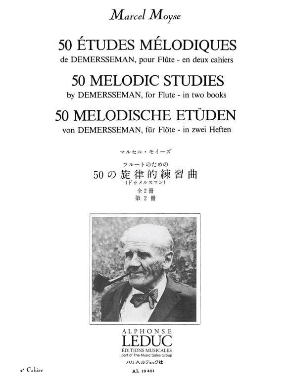50 Etudes mélodiques - Volume 2 - laflutedepan.com