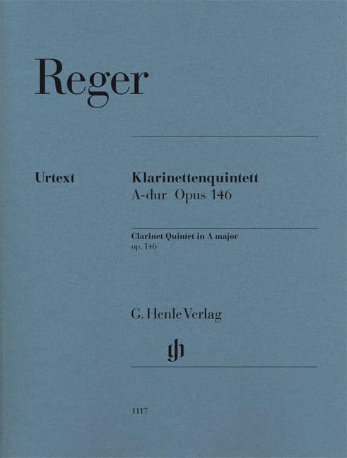 Quintette pour Clarinette et cordes, op. 146 - Parties - laflutedepan.com
