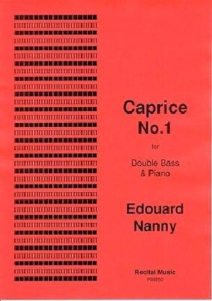 Caprice No.1 - Edouard Nanny - Partition - laflutedepan.com