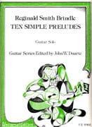 10 Simple preludes Brindle Reginald Smith Partition laflutedepan