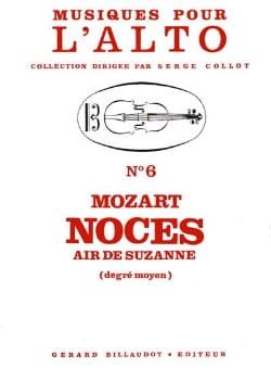 Noces - Air de Suzanne MOZART Partition Alto - laflutedepan