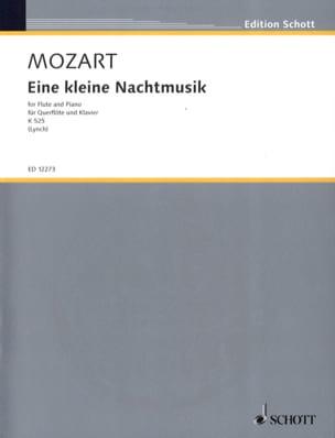 Eine kleine Nachtmusik KV 525 - Flöte Klavier MOZART laflutedepan