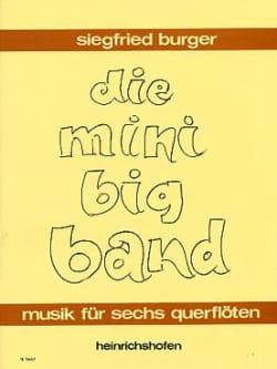 Die Mini Big Band - 6 Flöten Siegfried Burger Partition laflutedepan