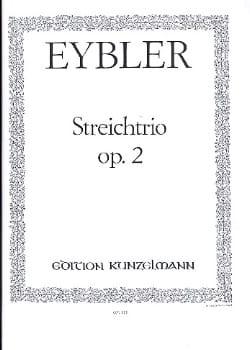 Streichtrio op. 2 -Stimmen Joseph Eybler Partition laflutedepan