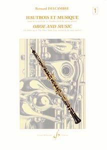 Hautbois et Musique - Volume 1 Bernard Delcambre laflutedepan