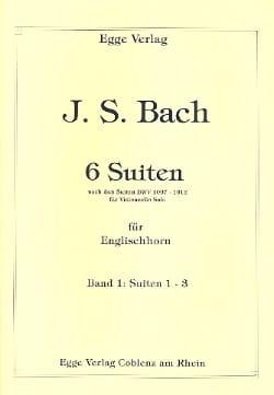 6 Suites Volume 1 BACH Partition Hautbois - laflutedepan