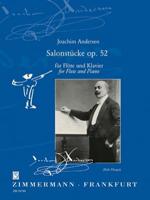 Salonstücke Op. 52 ANDERSEN Partition Flûte traversière - laflutedepan