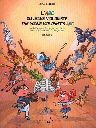 L' Abc du Jeune Violoniste Volume 2 - Jean Lenert - laflutedepan.com