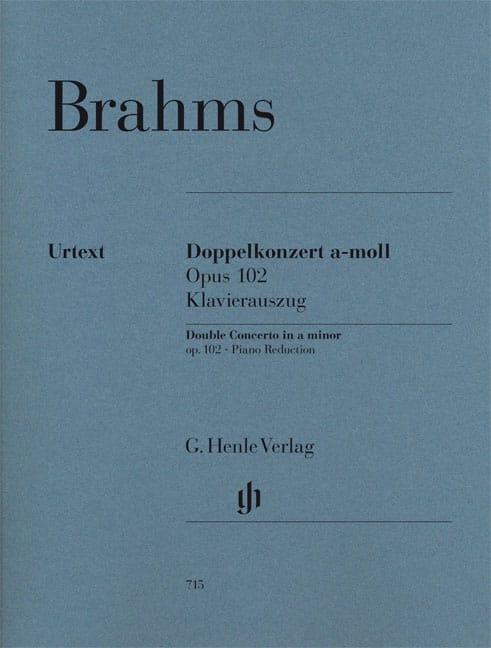 Double Concerto, opus 102 - Violon, violoncelle et piano - laflutedepan.com