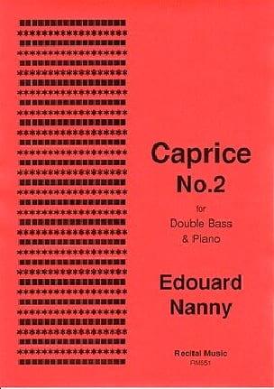 Caprice No.2 - Edouard Nanny - Partition - laflutedepan.com