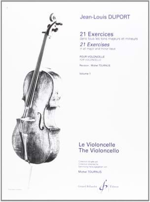 21 Exercices pour violoncelle - Volume 1 laflutedepan