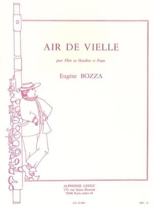 Air de vielle - Flûte ou hautbois piano Eugène Bozza laflutedepan