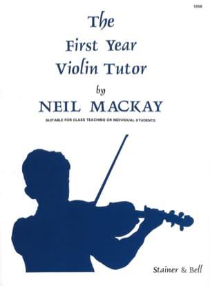 The First Year Violin Tutor - Neil Mackay - laflutedepan.com