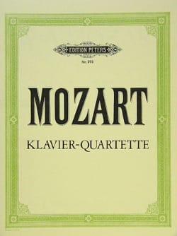 MOZART - Klavierquartette KV 478, KV 493 - Partition - di-arezzo.co.uk