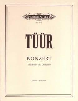 Konzert für Violoncello - Partitur Erkki-Sven Tüür laflutedepan