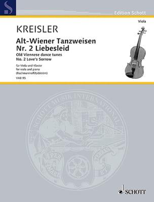 Fritz Kreisler - Liebesleid - Alto y Piano - Partition - di-arezzo.es