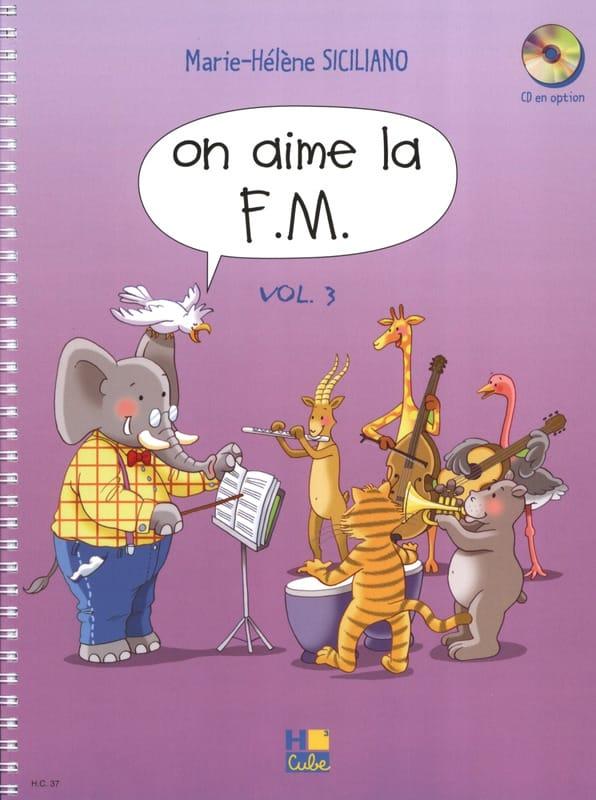 On Aime la FM - Volume 3 - SICILIANO - Partition - laflutedepan.com