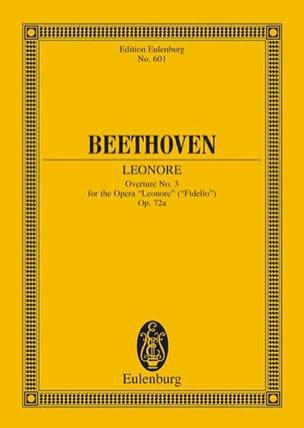 Leonore Nr. 3 C-Dur, Ouverture BEETHOVEN Partition laflutedepan
