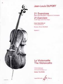 21 Exercices Pour Violoncelle Volume 2 Jean Louis Duport laflutedepan