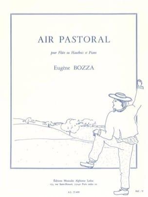 Air pastoral Eugène Bozza Partition Flûte traversière - laflutedepan