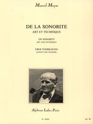 De la Sonorité Marcel Moyse Partition Flûte traversière - laflutedepan