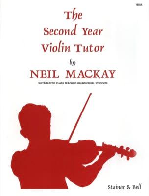 The Second Year Violin Tutor Neil Mackay Partition laflutedepan