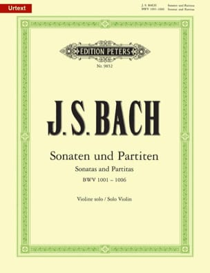BACH - Sonaten und Partiten, BWV 1001-1006 - Partition - di-arezzo.co.uk