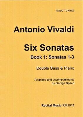 Six Sonatas: Book 1 - Sonatas 1-3 (Solo tuning) - laflutedepan.com