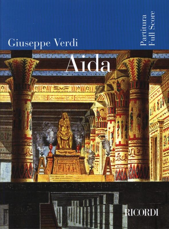 Aida - Partitura - VERDI - Partition - Grand format - laflutedepan.com