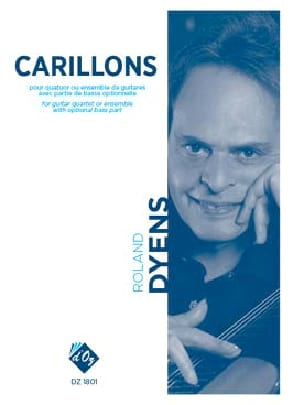 Carillons - Roland Dyens - Partition - Guitare - laflutedepan.com