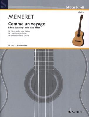 Comme un Voyage Laurent Méneret Partition Guitare - laflutedepan