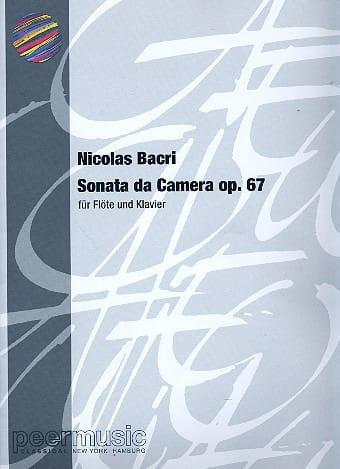 Sonata da Camera op. 67 -Flöte Klavier - laflutedepan.com