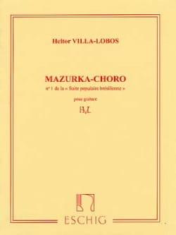 Mazurka Chôro : n° 1 de la Suite populaire brésilienne laflutedepan