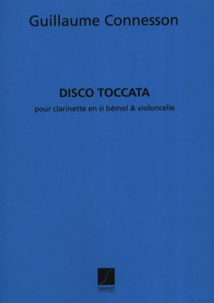 Disco-Toccata CONNESSON Partition Duos - laflutedepan