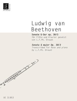 Sonate G-Dur op. 30 n° 3 -Flöte Klavier BEETHOVEN laflutedepan