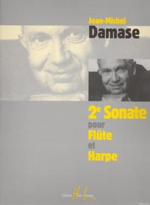 Sonate N°2 - Flûte Et Harpe - Jean-Michel Damase - laflutedepan.com