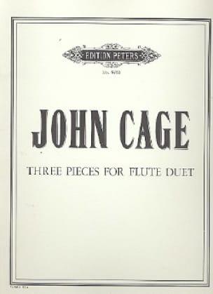 Three Pieces For Flute Duet - CAGE - Partition - laflutedepan.com