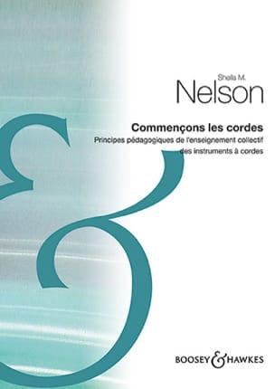Commençons les cordes Sheila M. Nelson Livre Violon - laflutedepan