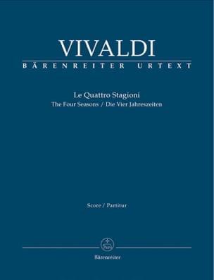 Les 4 Saisons - Conducteur VIVALDI Partition laflutedepan