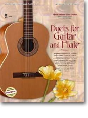 Duets For Guitar & Flute, Volume 1 Partition Duos - laflutedepan
