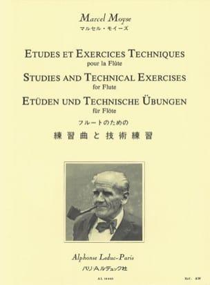 Etudes et exercices techniques pour la flûte Marcel Moyse laflutedepan