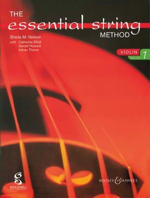 Essential string method, Volume 1 - Violin laflutedepan