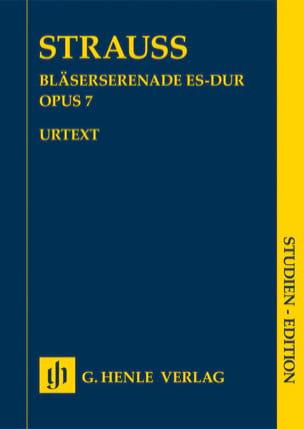 Sérénade pour Vents, opus 7 Richard Strauss Partition laflutedepan