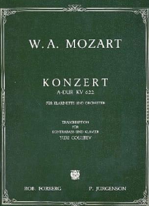 Konzert A-Dur KV 622 - MOZART - Partition - laflutedepan.com
