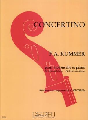 Concertino Friedrich-August Kummer Partition laflutedepan