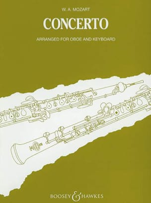 MOZART - Concerto KV 314 - Oboe piano - Partition - di-arezzo.com