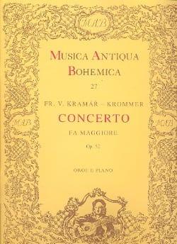 Concerto in fa maggiore op. 52 - Oboe piano KROMMER laflutedepan