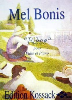 Pièce Mel Bonis Partition Flûte traversière - laflutedepan