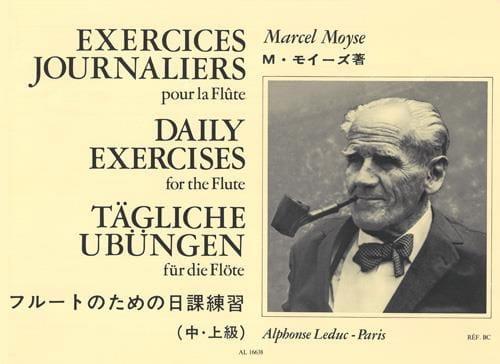Exercices Journaliers - Marcel Moyse - Partition - laflutedepan.com