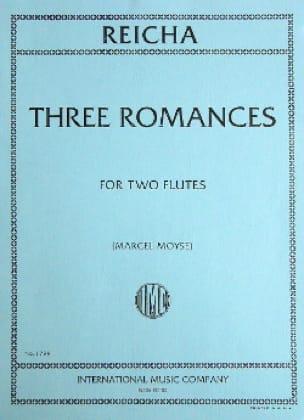 3 Romances op. 21 - 2 Flûtes - REICHA - Partition - laflutedepan.com